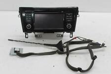 2016 NISSAN QASHQAI OEM Radio/CD/Stereo Head Unit 7513750220
