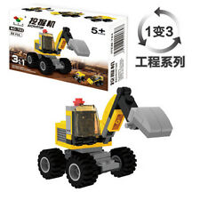 Excavator series Toy Building Blocks Set New educational toys with children
