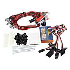 G.T.Power RC Auto LKW 10 LED Beleuchtung Set Bremslicht + Scheinwerfer + Si V1N5