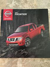 2016 Nissan FRONTIER 20-page Original Sales Brochure