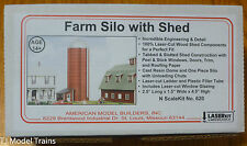 American Model Builders N #620 Farm Silo With Shed (Laser & Resin Kit)