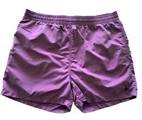 NEW, POLO RALPH LAUREN MEN'S PURPLE SWIM SHORTS, XXL, $85