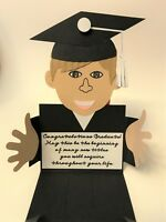 Graduation Guy Handmade Gift Card or Money Holders