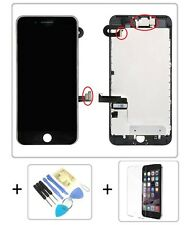 """Apple iPhone 7 PLUS 7+ 5,5"""" RETINA HD LCD DISPLAY KOMPLETT VORMONTIERT Schwarz"""