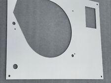 Thorens TD 160 165 166 145 Original-Design top face plate Silver Mirror NO LIFT