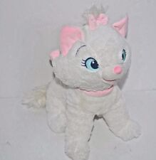 "12"" Disney Store Walt Disney World Aristocats White Plush Cat Marie"