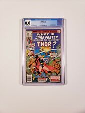 What If? #10 CGC 8.0 WP 1st Jane Foster as Thor Love Thunder MCU