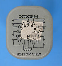 GE RELAY 91931-1; C-7707249-1 Alt. PN: CR2791G123A1, only one to choose from!