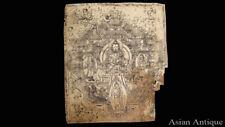 Mongolian Tibetan Amulet Manuscript Sutras Book Leaves Mongolia #A3462