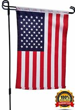 "Garden & Yard Flag Holder with 12""x 18"" American Flag Included"