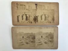 2 Stereoviews 1850s/60s Friths Egypt