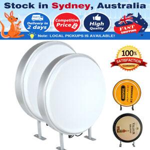 "AU 20"" (50cm) Round LED Light Box / Circular Projecting Lightbox / Signs Supply"