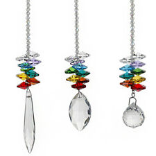 Set3 Crystal Suncatcher For Window Rainbow Octagonal Hanging Pendant Home Decors