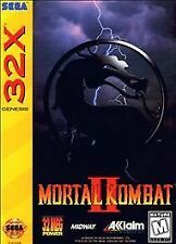 Mortal Kombat II - Sega Genesis 32X Game Only