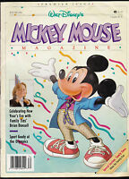 Walt Disney's Mickey Mouse Magazine Winter 1988 First Issue Brian Bonsall