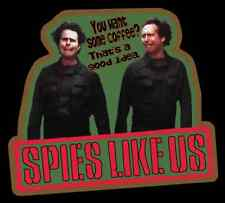 "80's Classic Spies Like Us ""Want Some Coffee?"" custom tee Any size Any Color"