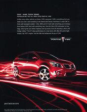 2009 Pontiac Vibe - Final -  Classic Advertisement Ad A48-B