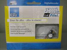 ESU 54610 LokPilot V4.0 Decoder DCC MM SX 8-poliger Stecker Multiprotokoll Neu!
