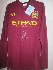 Vincent Kompany Signed Manchester City 2012-2013 Away Football Shirt COA /15662