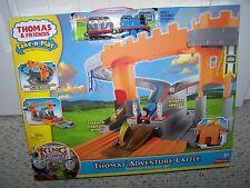 *Thomas & Friends TAKE -N- PLAY THOMAS' ADVENTURE CASTLE PORTABLE FOLD-OUT SET
