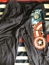 Marvel Captain America Pajama Lounge Pants Mens Size Medium 32-34