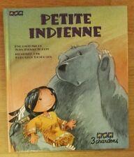 PETITE INDIENNE - 3 chardons cartonné - état neuf - sans CD
