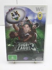 Rugby League 3 - Wii PAL Edition - Includes Manual