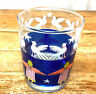 Neiman Marcus Angels Doves Stars  1 Tumbler Glass Old Fashioned  Xmas 12 0z