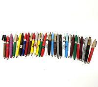Vintage Advertising Ballpoint Pens - (30) Lot - Assorted Ballpoint Pens   BPP005