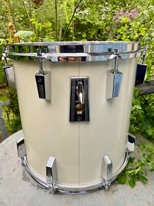 """Sonor Phonic Plus 14"""" Tom weiss, 9ply beechwood shell Top Zustand"""
