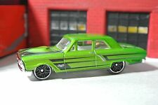 Hot Wheels Loose - Ford Thunderbolt - Green & Black - 1:64 - Exclusive - Rare