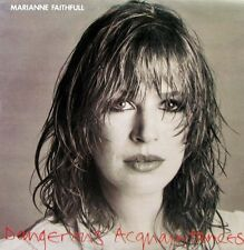 MARIANNE FAITHFULL Dangerous Acquaintances LP