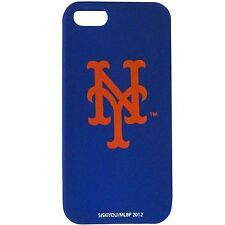 For Apple iPhone 5 and 5s New York Mets Silicone Protective Case MLB