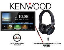 Kenwood eXcelon DDX9903S CD DVD w/ Bluetooth HD Radio and Headphones KH-KR900