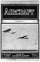 Aircraft Magazine 59 Issue Collection 1910-1915 Aviation Civilian