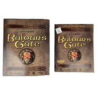 Baldur's Gate (Big Box PC Computer Game) Forgotten Realms + Strategy Guide