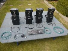 4X Scanner Futurelight DJ Scan 250 + Futurelight EX 6/32 24 Channels DMX Control