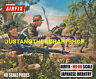 Airfix HO-OO WWII Japanese Infantry Large Size Poster Advert Blue Box Artwork