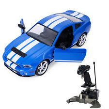 1/14 Ford Mustang Shelby GT500 Radio Remote Control RC Model Car Blue New