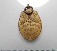 North Of England Musical Tournament Medal. 4 x 2 cm