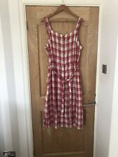 Bnwt Check Midi Dress From Next Size 12.