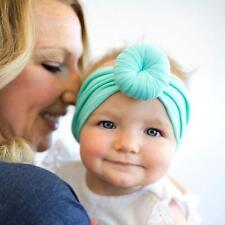 New Baby Head Scarf Wrap Indian Style Twist Knot Bonnet Chemo Turban C