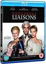 Dangerous Liaisons (1988) Glenn Close Blu-Ray BRAND NEW Free Ship