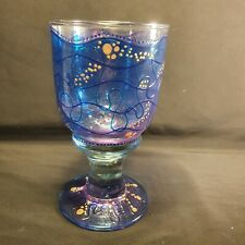 Vintage Hand Blown Goblet By Moira White