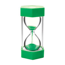 Large Sand Egg Hourglass Timer 1 Minute SEN ADHD Teeth Teacher Cooking Green