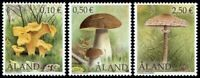 ALAND 2003 FUNGI SET OF ALL 3 COMMEMORATIVE STAMPS MNH