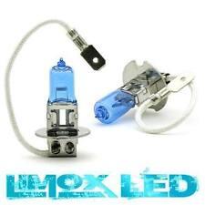 2x HALOGEN LAMPE Bulb H3 Super White 100W Watt 12V GLÜHBIRNE Blau