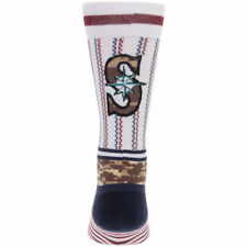 Stance Men's L Baseball Seattle Sentry Mariners MLB Crew Socks 558 Memorial Day
