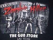 The Gun Store Las Vegas Certified Zombie Killer T-Shirt Adult Medium