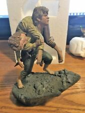Lord of the rings Frodo and Sam Mount Doom Diorama Sideshow statue.  NIB Hobbit